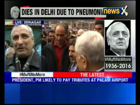 Mufti Mohammad Sayeed's death: Mehbooba Mufti set to take over as next CM of Jammu and Kashmir