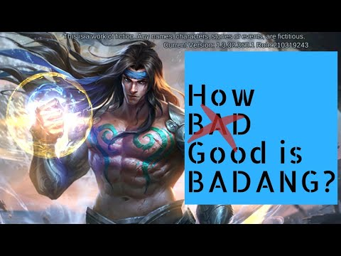 Is Badang the New Real Deal? Badang Gameplay, Mobile Legends 2019