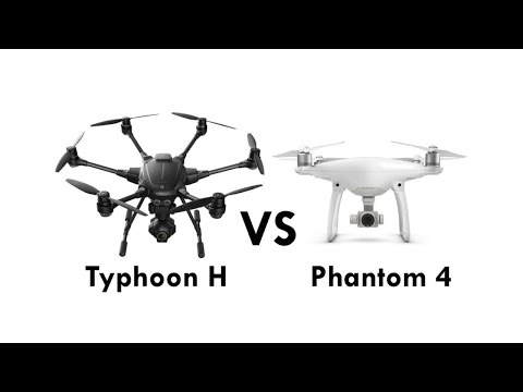 DJI Phantom 4 Vs. Yuneec Typhoon H - Watch This Before You Buy!!!