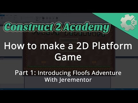 How to make a 2D Platform Game Part 1: Introducing Floofs Adventure - with Jerementor
