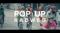 Pop-Up Radweg in Pforzheim