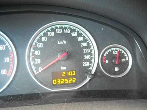 Opel на дисплее руль с восклицательным знаком