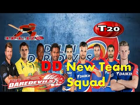 Delhi Daredevils (DD) Team Squad | | DD New Official Team  List | | After IPl Auction 2017 Teams |