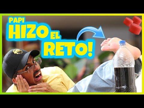 Daniel El Travieso - Papi Hace El Bottle Cap Challenge.