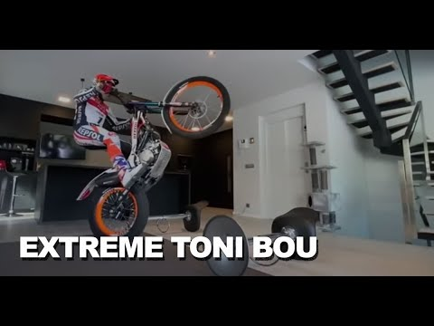 Extreme Trial training at home with Toni Bou COVID19 - YouTube