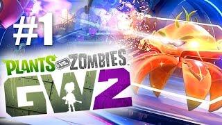 МЕГА ПОБОИЩЕ! #1 Plants vs Zombies: Garden Warfare 2 (HD) играем первыми