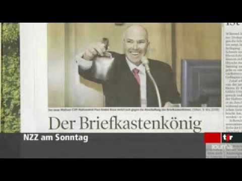 TSR 1245 - 28.02.2010 Paul-Andre Roux Article NZZ am Sonntag