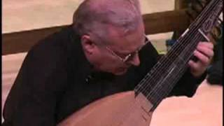 Jerry Willard performs Jacques de Gallot on archlute (Clip)