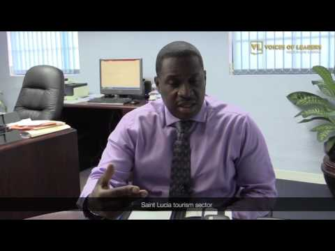 Top executive: Hon. Louis Lewis, Director of Tourism at the Saint Lucia Tourist Board