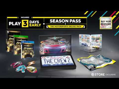 ubisoft announce the crew 2 release date and motor edition. Black Bedroom Furniture Sets. Home Design Ideas