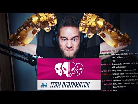 NEJVYŠŠÍ INTENZITA - Overwatch Team Deathmatch