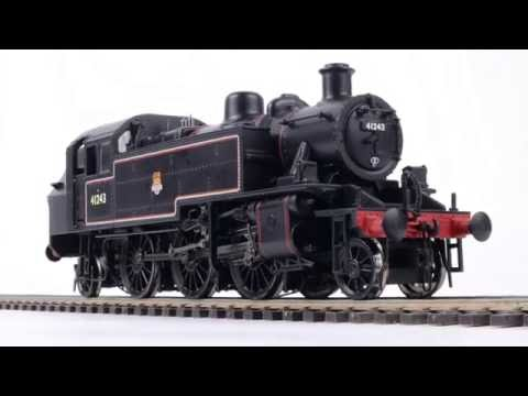HM111: Bachmann Re-chassised Ivatt '2MT' 2-6-2T
