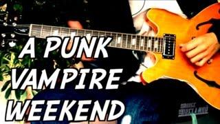 A-Punk - Vampire Weekend ( Main Riff Guitar Tab Tutorial & Cover )
