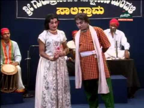 Yakshagana- hasya-kedige-halladi -Bandanalli sogasugara R mayya