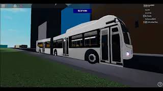 Roblox Vortex Transit New Flyer XD60 Ride Part 2