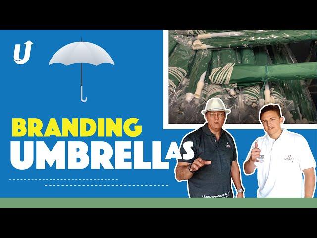 Branding onto Umbrellas | How to print onto Umbrellas | Digital Printing