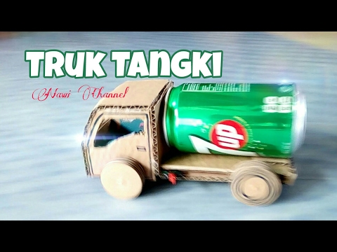 How to make a tanker truck