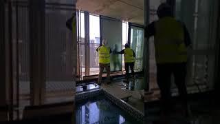 australia 108 cwall installation