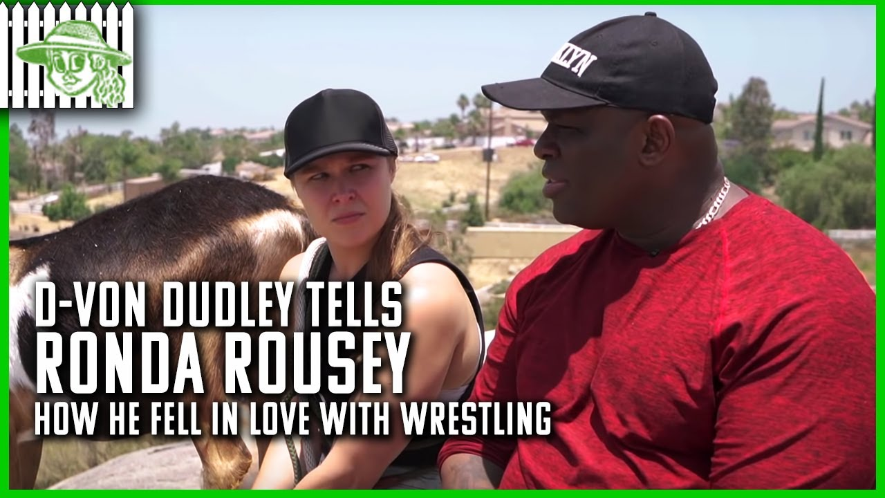 D-Von Dudley Tells Ronda Rousey How He Fell in Love with Wrestling