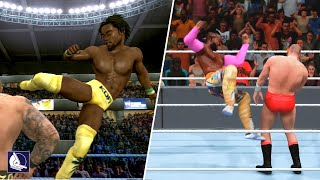 Kofi Kingston Evolution in WWE Games