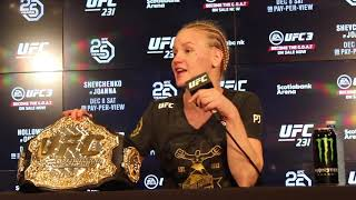 Valentina Shevchenko Has 'Unfinished' Business with Amanda Nunes After Winning Title at UFC 231