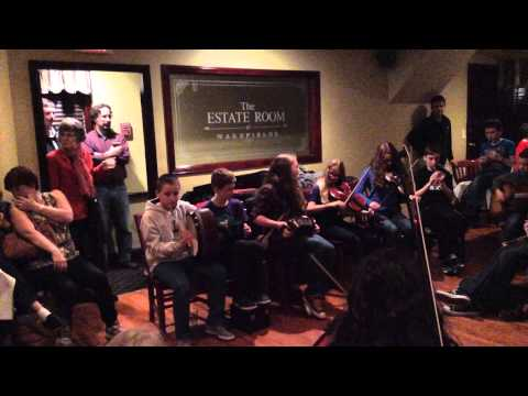 Session Tunes by Trad Youth Exchange Group at Harrington's
