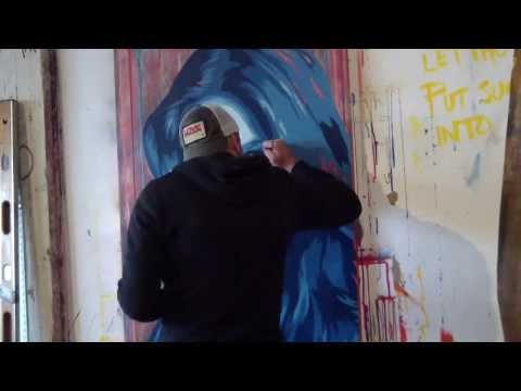 Painting Lada Kravchenko | Artist Jeremy Penn