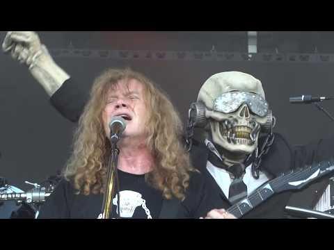 Megadeth  Peace Sells ROCK USA 2017 Oshkosh Wisconsin