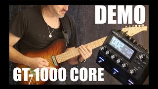 Boss GT-1000 Core Demo by Alex Hutchings