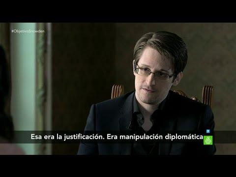 """Edward Snowden: """"Espiábamos a personas que no eran sospechosas"""""""