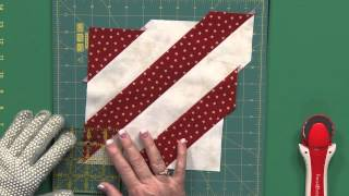 Sew Easy: Triangle Squares From Bias Strips
