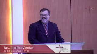 Rev. Joselito Gomes | Mateus 16:13-18 | 15.12.2019
