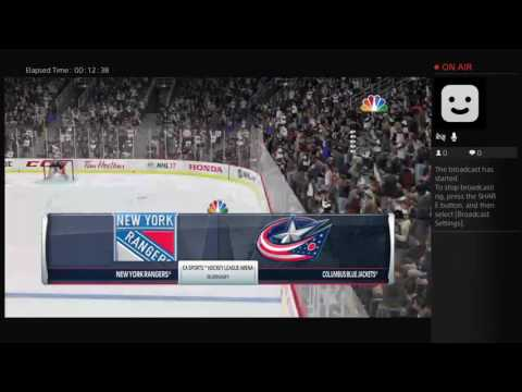 VGHL NY RANGERS vs COLUMBUS BLUE JACKETS