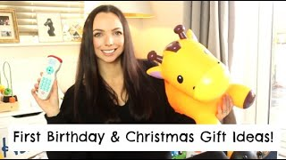 First Birthday & Christmas Gift Ideas For A One Year Or 12 Month Old | Mummy Nutrition