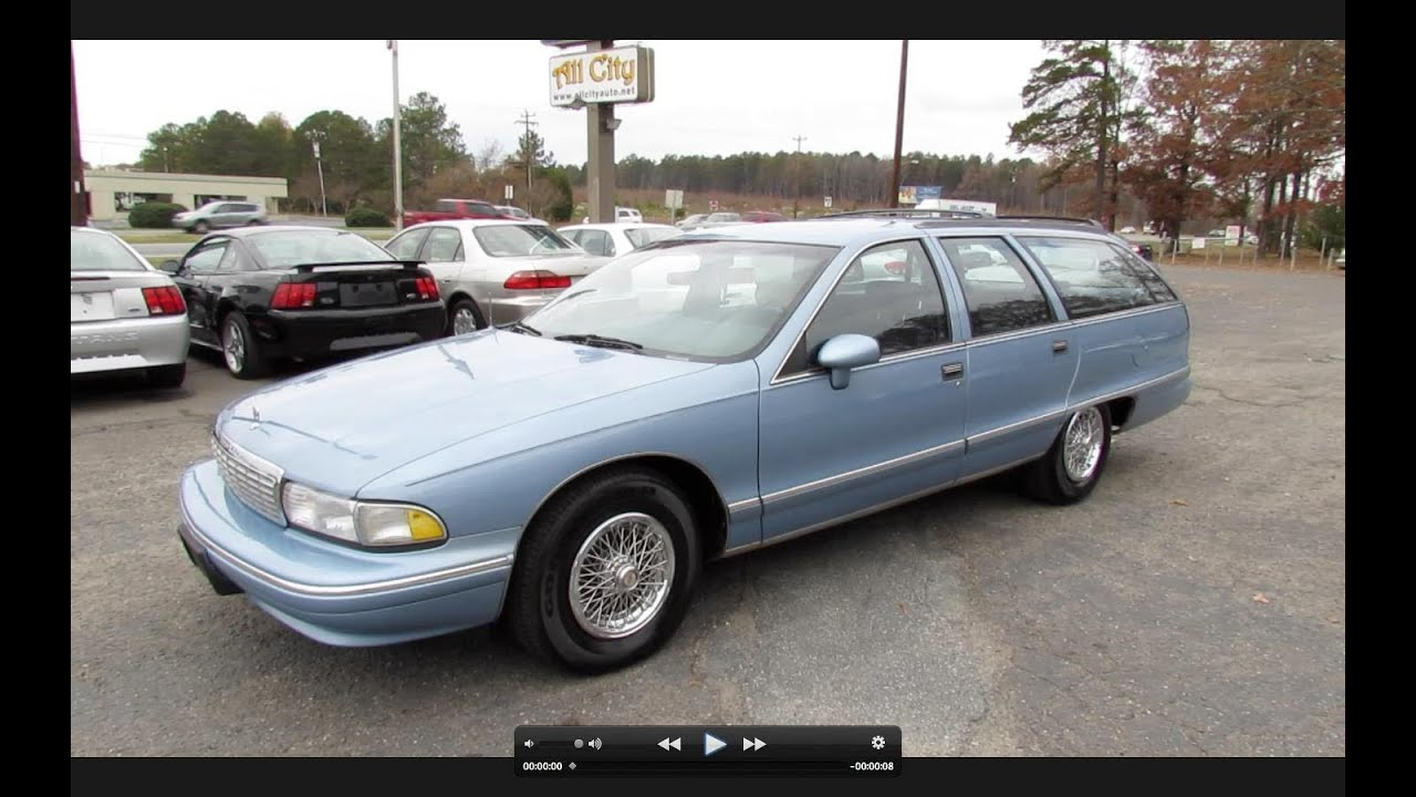 All Chevy 1996 chevrolet caprice wagon : 1993 Chevrolet Caprice Classic Wagon Start Up, Exhaust, and In ...