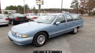 1993 Chevrolet Caprice Classic Wagon Start Up, Exhaust, and In Depth Tour
