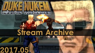 [Livestream Archive] Duke Nukem: Land of the Babes Widescreen Blindplay