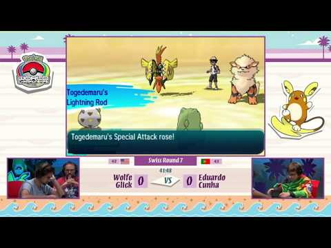 Pokemon World Championships 2017 VGC - Wolfe Glick vs Eduardo Cunha