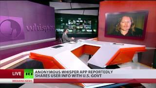 Listening to 'Whisper': Social media app found to tracks users