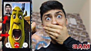 DO NOT FACETIME SHREK AT 3AM!! *OMG HE CAME TO MY HOUSE*