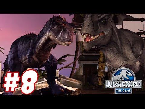 CARNOTAURUS vs TYRANNOTITAN : Trò chơi nuôi khủng long đánh nhau - Jurassic World The Game #8