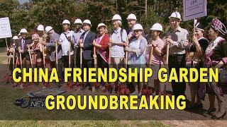 3 HMONG NEWS: CHINA FRIENDSHIP GARDEN GROUNGBREAKING WITH KABYEEJ VAJ.