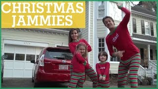 #XMAS JAMMIES - Merry Christmas from the Holderness Family! | The Holderness Family thumbnail