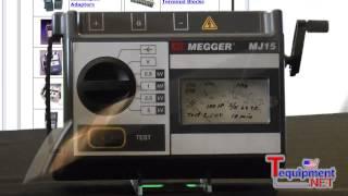 Аналоговый мегаомметр Megger MJ15(, 2015-02-08T17:12:19.000Z)
