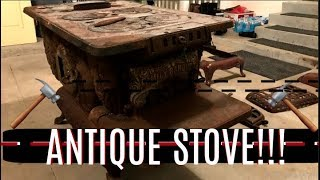 #169 - Antique Wood Burning Kitchen Stove (For the Ranch)