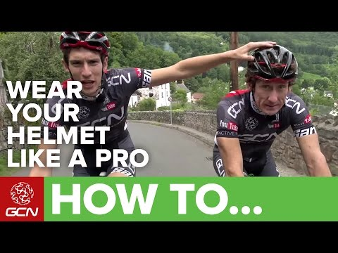 How To Wear Your Helmet Like A Pro