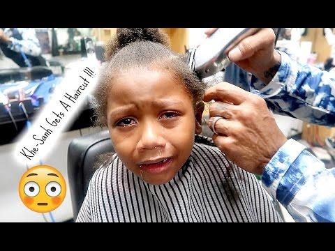 VLOG | KHE-SANH GETS HIS HAIR CUT !!!