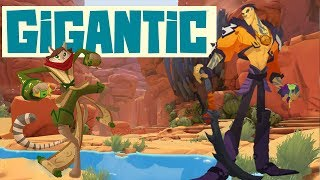 Taking The Fight - Gigantic Gameplay  Ramsay