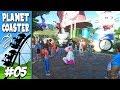 A VACA LOUCA E NOVO BRINQUEDO !!  Planet Coaster #5