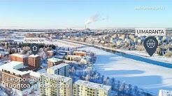 As. Oy Oulun Åströmin Tori - Jokinäkymät, luonto ja keskusta samassa paketissa